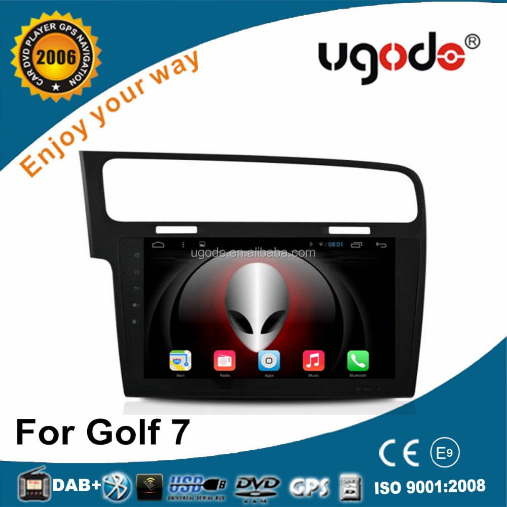 ugode 10.1 Inch Touch Screen Android Car GPS Navigation For Golf 7