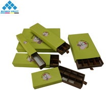 Nice Looking Packaging Boxes for Chocolate Recycled Cardboard Paper Chocolate Gift Box with Divider in China Manufacturer