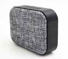 Portable Bluetooth 4.1 Speaker Wireless Fabric Speaker for Enhanced Music Streaming Hands Free Calling Built in Mic