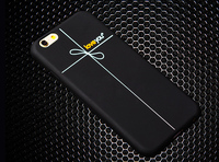 Ultra Thin Soft Silicone Landscape Case Cover For iphone 5 5s hard case black