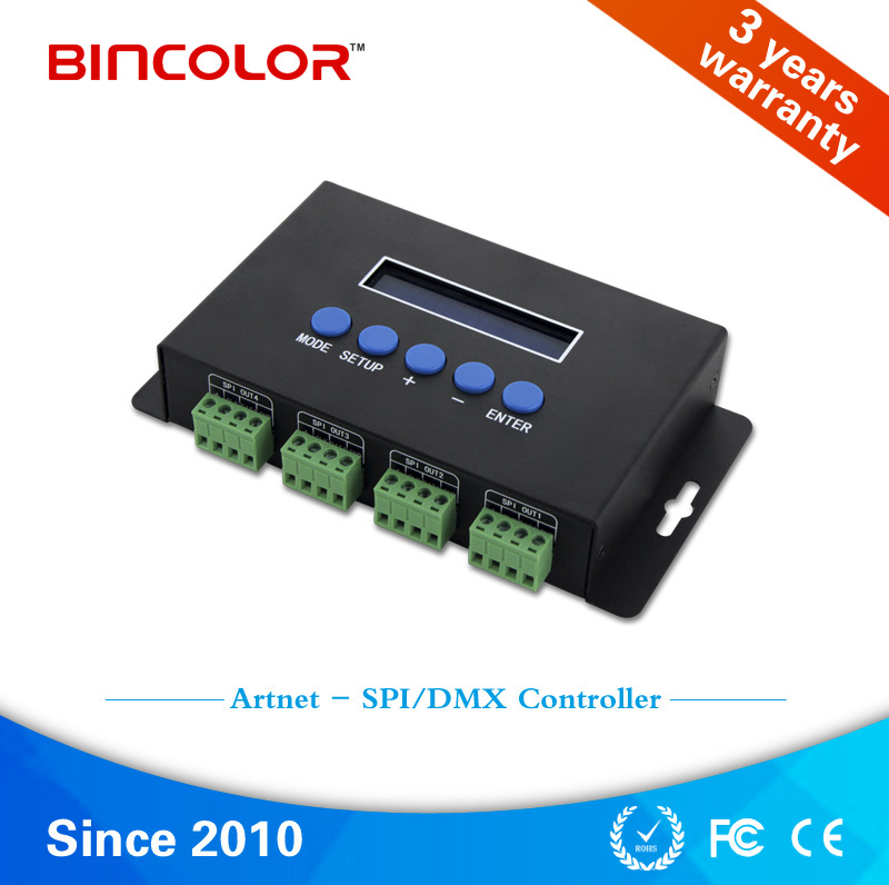 Bincolor BC-824 24 Channels DMX512 power decoder RGB light controller