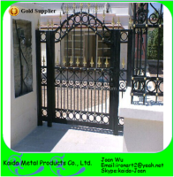Wrought Iron Walk Gate Designs