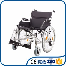Special price safe manual adjustable steel wheelchair