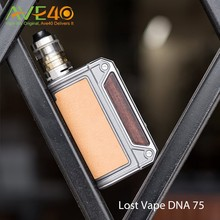 75w Therion DNA Mod Lost Vape Therion DNA75 TC Box Mod with Patented Evolv DNA75 Chipset