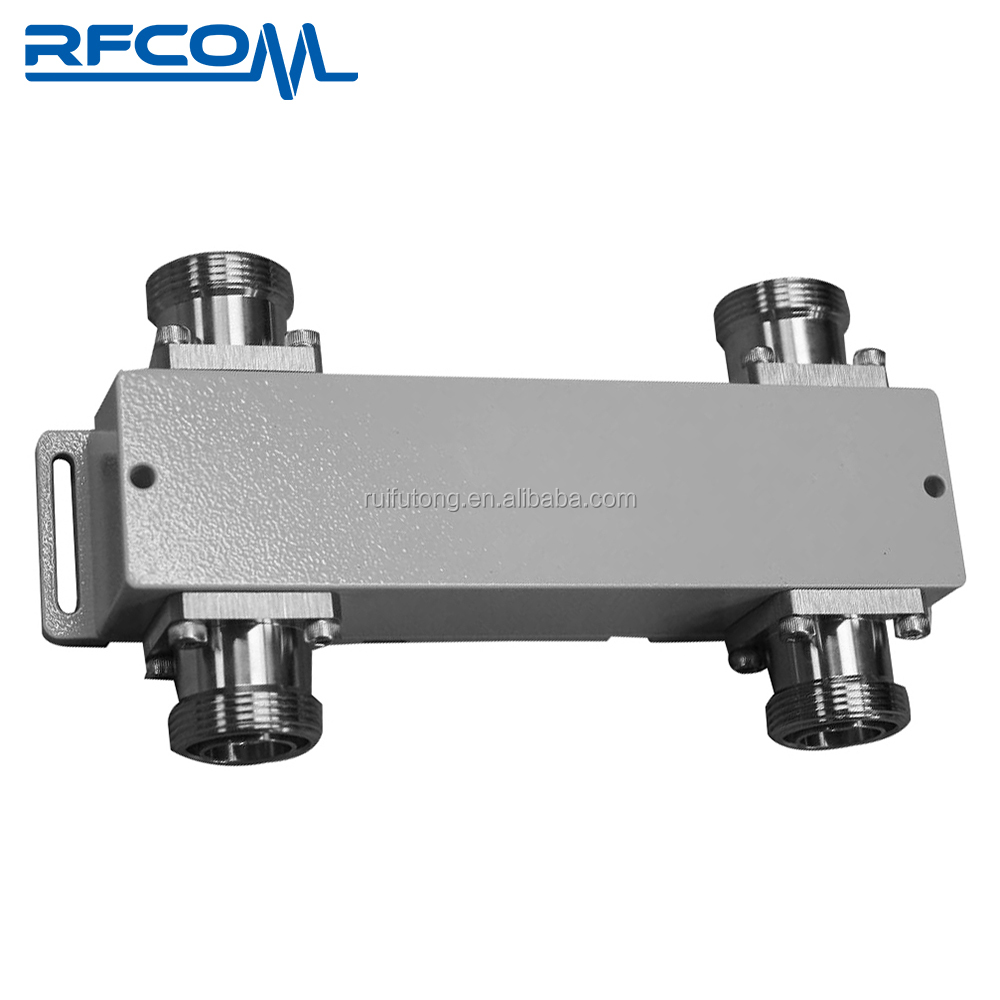 Low PIM RF Hybrid Combiner 2 in 2 out 700-2700MHz 3dB hybrid Coupler