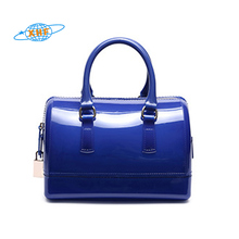 China supplier fashion clear pvc women bags handbag