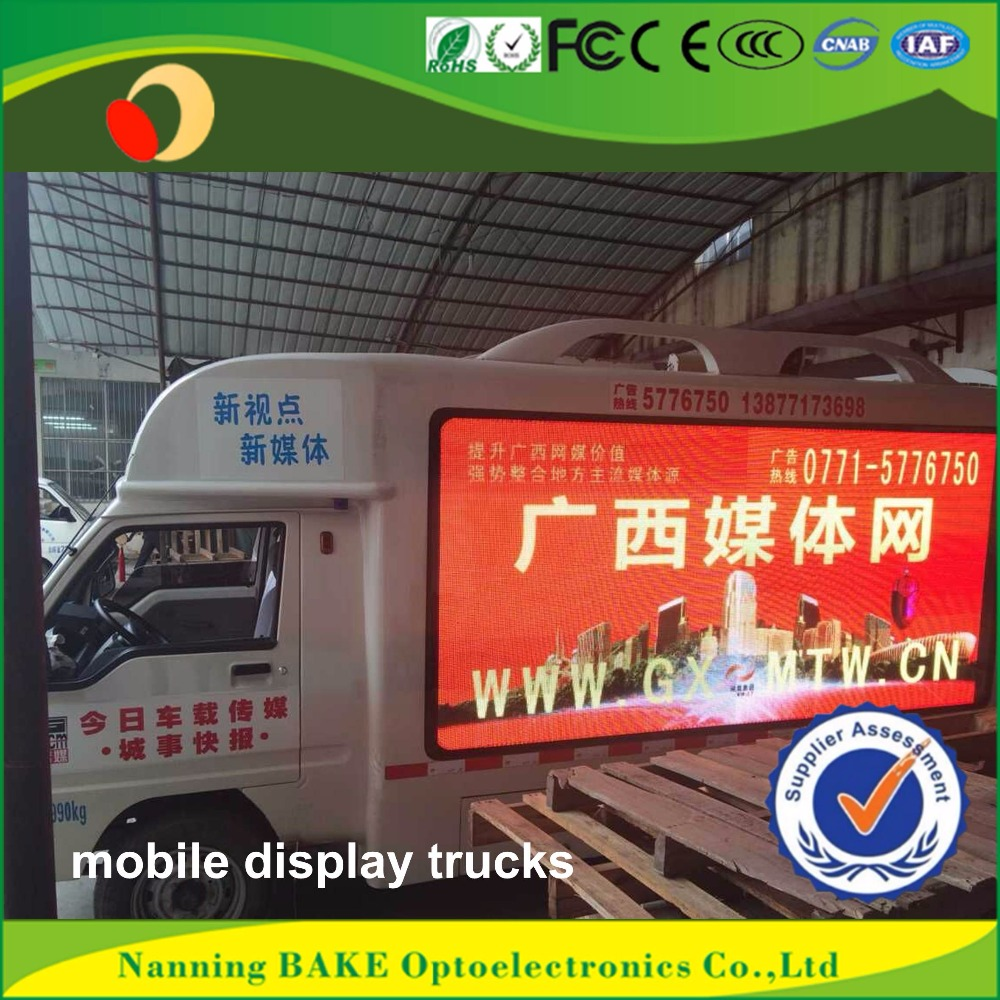 Indoor P3 P5 fixed economical led display scrolling advertising trucks
