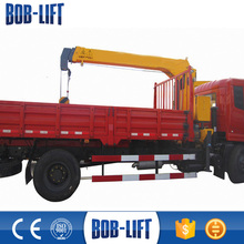Good price Chinese mini truck with crane manufacturer SQ4SA2