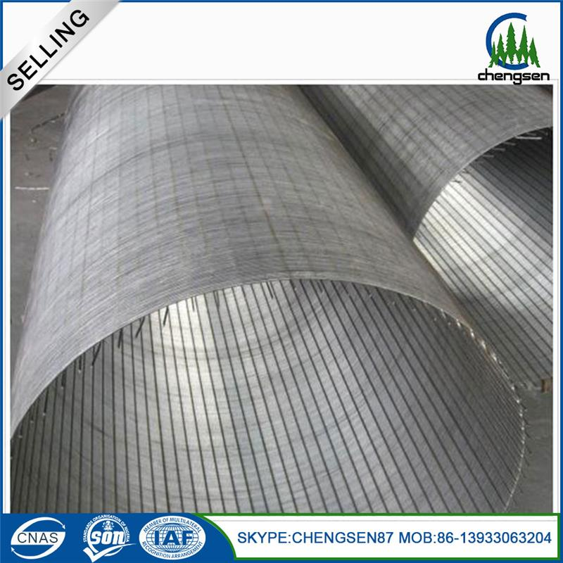Price list perforated metal screen pleated sieve knitted wire mesh drum sieve mesh