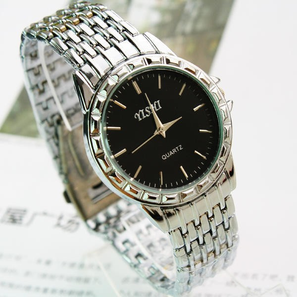 Vogue wrist watch all stainless steel watches for men