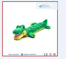2016 plush toys stuffed crocodile infant plush toys wholesale