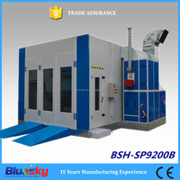 bus paint booth/big paint booth/cheap auto spray paint booth