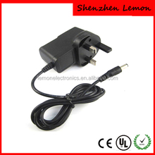 UK plug adapter 12v 1a 1.5a power adapter for LED light/wifi router