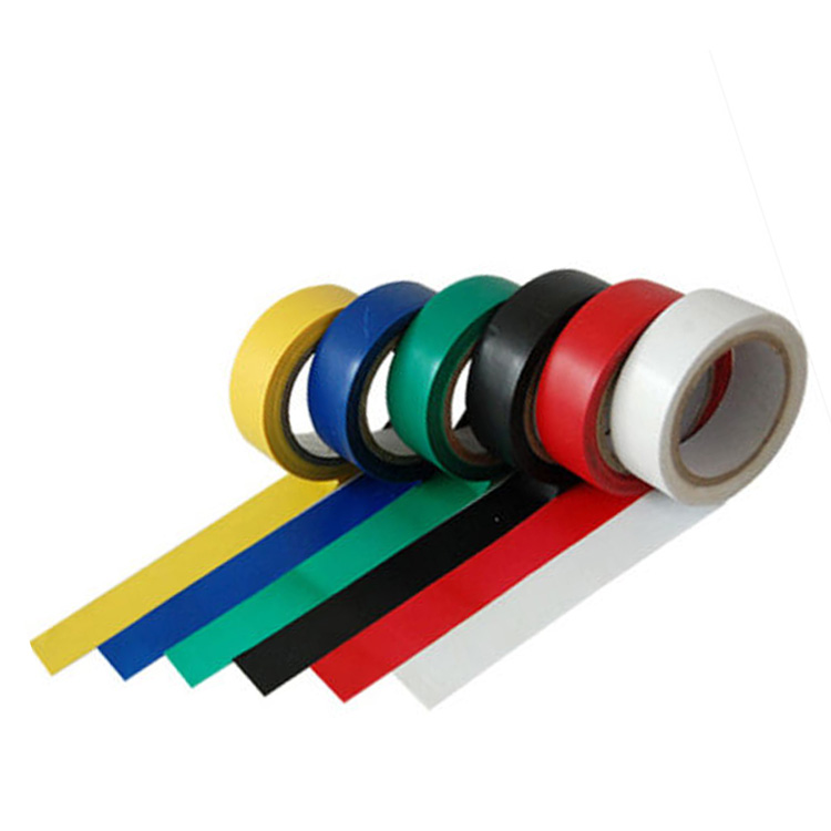 0.25 MM Acrylic Tape Electric PVC Is Used For Insulation Tape