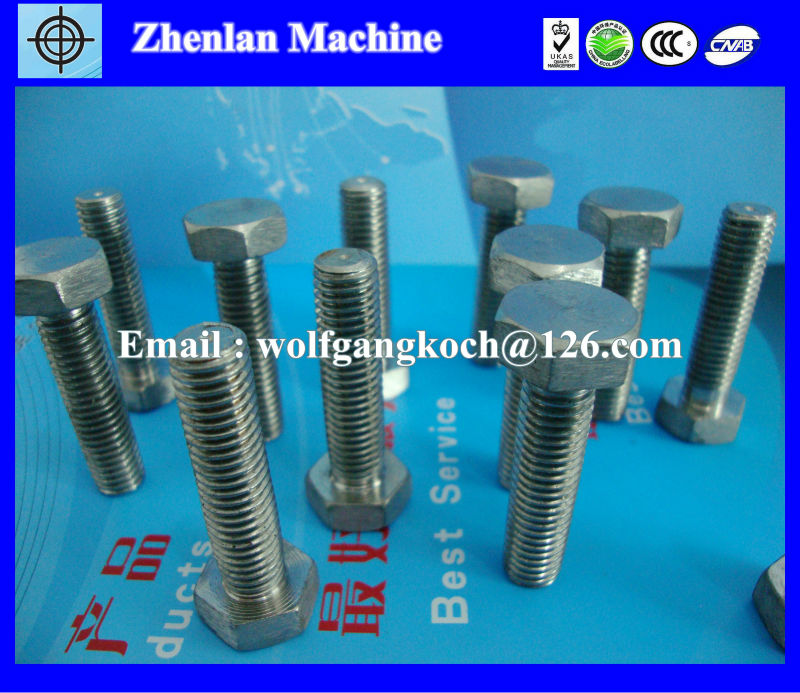 duplex stainless steel 2205/2507 bolts and nuts