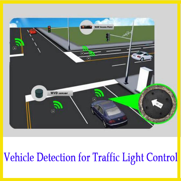 High-Resolution Traffic Sensing Sensor Vehicle Identification System for Adaptive Traffic Light Control
