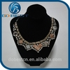 beaded guipure lace embroidery neck lace neck patch dog collar lace