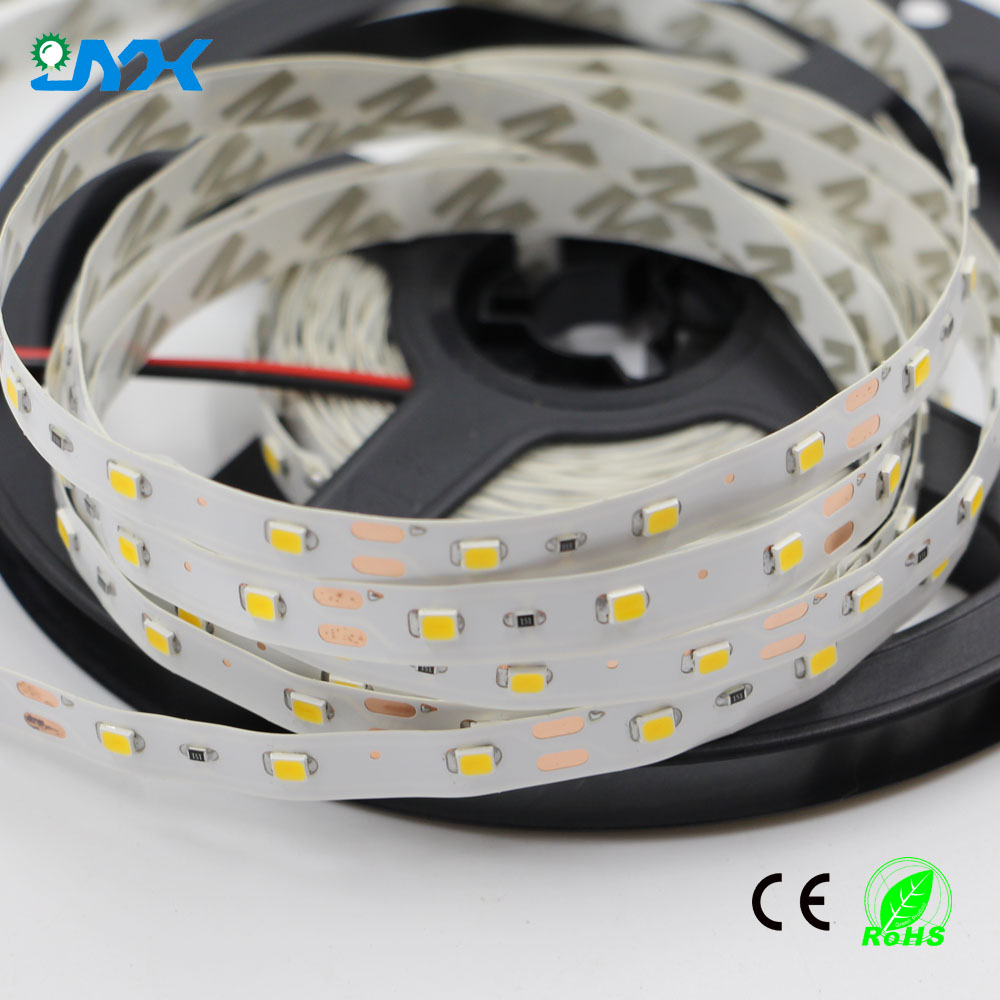 Festival decoration 2835 flexible LED strip light good quality at factory promotuonal price 4-5lm/led 60leds/m