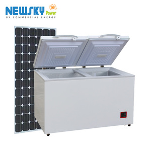 DC12V 24V solar powered deep freezer commercial solar freezer refrigerator fridge 12v 24v solar refrigerator fridge freezer
