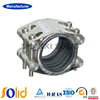 Double Lock Stainless Steel Pipe Coupling Quick Pipe Leak Repair Clamp with Rubber