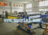 PVC Plastic floor panel making machine