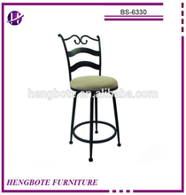 2016 cheap promotional metal industrial bar stool/kitchen bar chairs