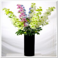 Big single artificial flower wholesale delphinium ajacis wedding event decor home decor