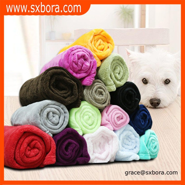 wholesale super soft flannel fleece blanket, home textile