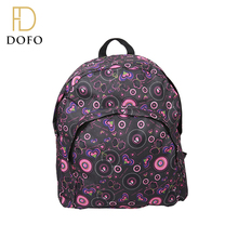 New style high quality PVC printed waterproof school bags for girls