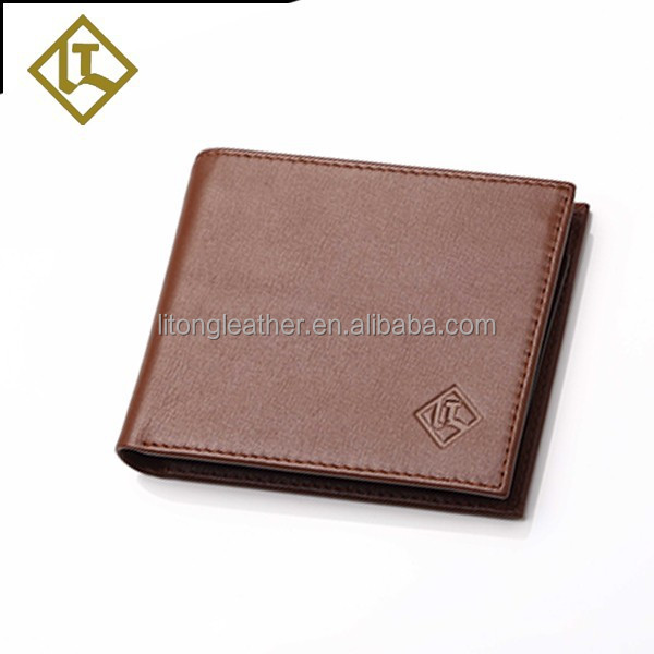 Alibaba wholesale as buyer's logo cluth men's genuine leather wallet