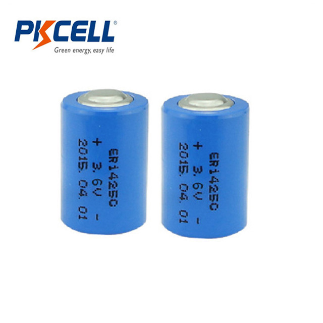 Replacement LS14250 1/2AA ER14250 14250 1200mAh 3.6V Li-SOCl2 Lithium Non-rechargeable Battery