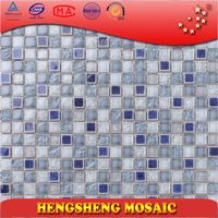 stone pattern decoration decor high quality china glass mosaic kitchen wall tile