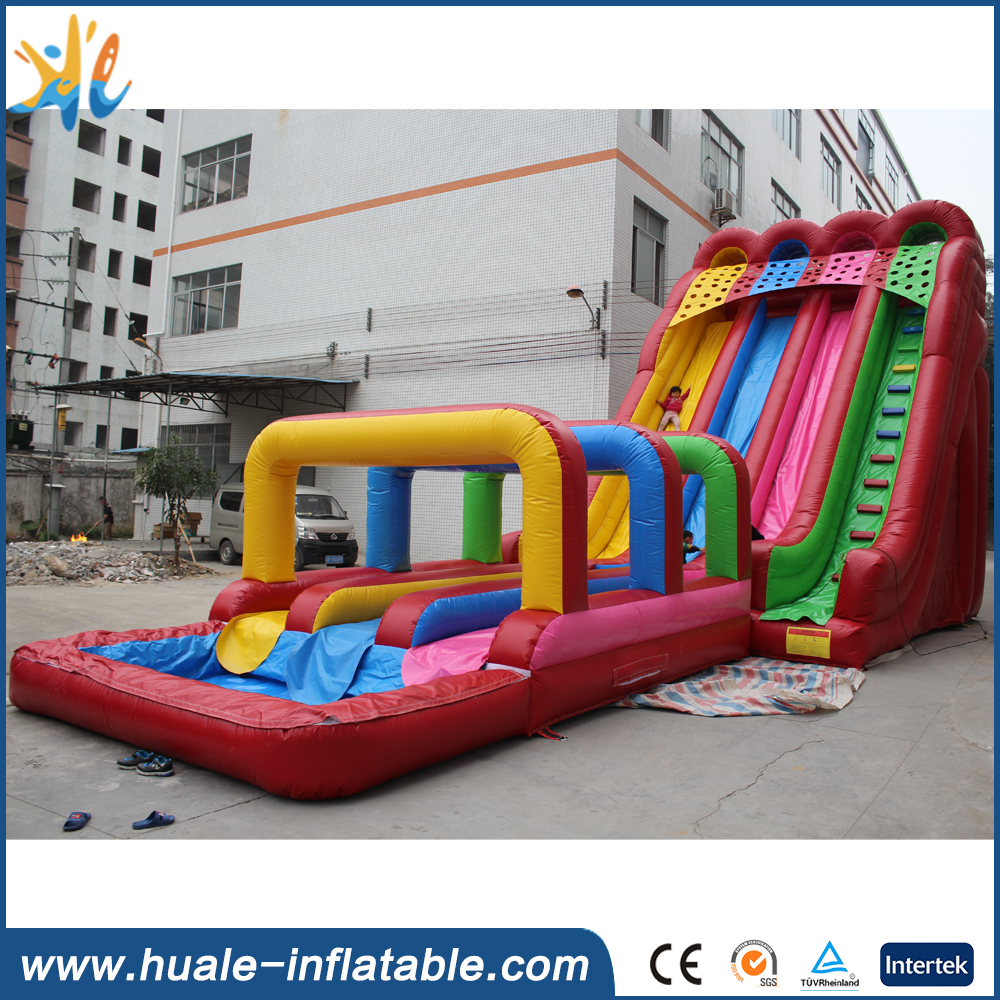 2016 China factory supply inflatable slip and slide for sale