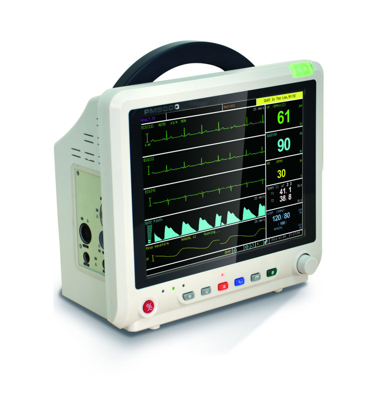 ECG /ETCO2/NIBP Patient Monitor with Central Monitoring System