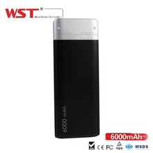 Hot sale gifts item 6000mAh 5V 2A electronics mini projects power bank for mobile