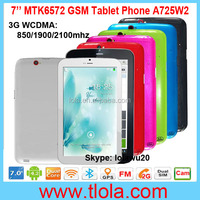 7 inch MTK6572 Dual Core GPS Bluetooth Android Tablet PC 2G Dual SIM
