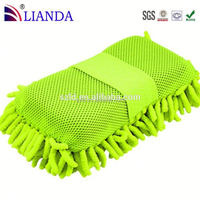 Car cleaning sponge microfiber detailing polishing pad