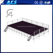 Sold well 6068 aluminum stage ,concert stage ,glass stage, platform stage