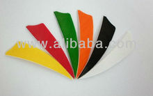 "3""/4""/5"" SHIELD TURKEY FEATHERS Arrow fletching 6 color to choose,end product"