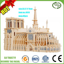 Wooden Toy Construction Kits Puzzle,3D Puzzle Wood Craft Construction Kit
