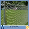 High quality vinyl coated chain link fence, plastic coating metal fence, 2m width chain link fence mesh