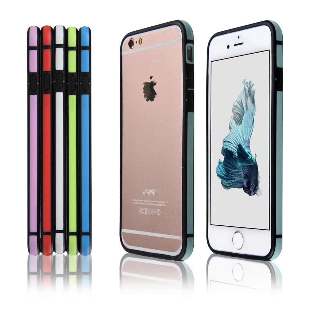 C&T Dual Layer Hybrid Bumper Cover for Apple iPhone 6 Plus