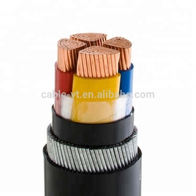 Low Voltage Pvc Power Cable 3x150 2x70mm2 With Ce Certification