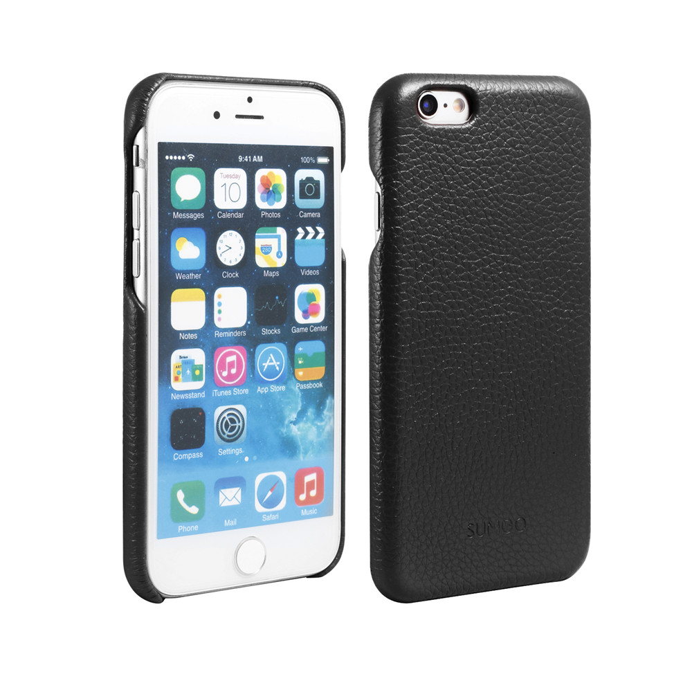 Leather phone case smart phone case for iphone 6 s