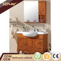 Low Price Floating Bathroom Vanity Set Antique Cabinet Wash Basin