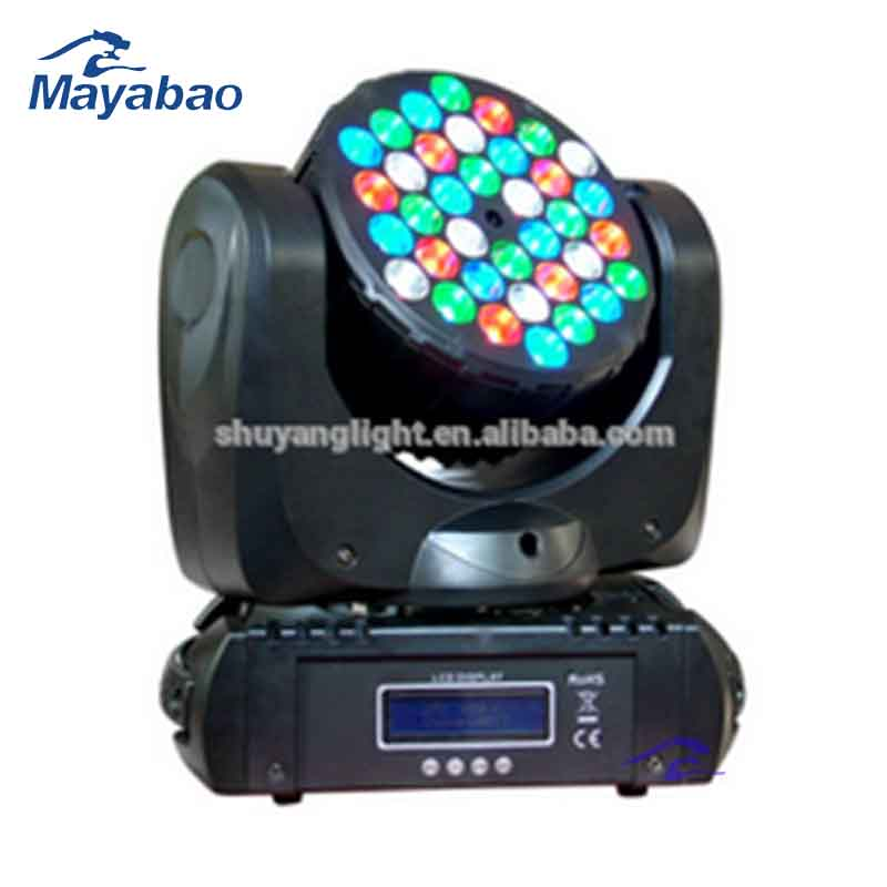 2016 Fatory directly <strong>LED</strong> Beam Moving Head <strong>Light</strong>/36pcs x <strong>3W</strong> moving head beam <strong>light</strong>