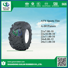 Cheap price CHINA ATV TIRES/TYRES 25x10-12 25x8-12 270/30-14 185/30-14 16x8.00-7 AVT tires for sale
