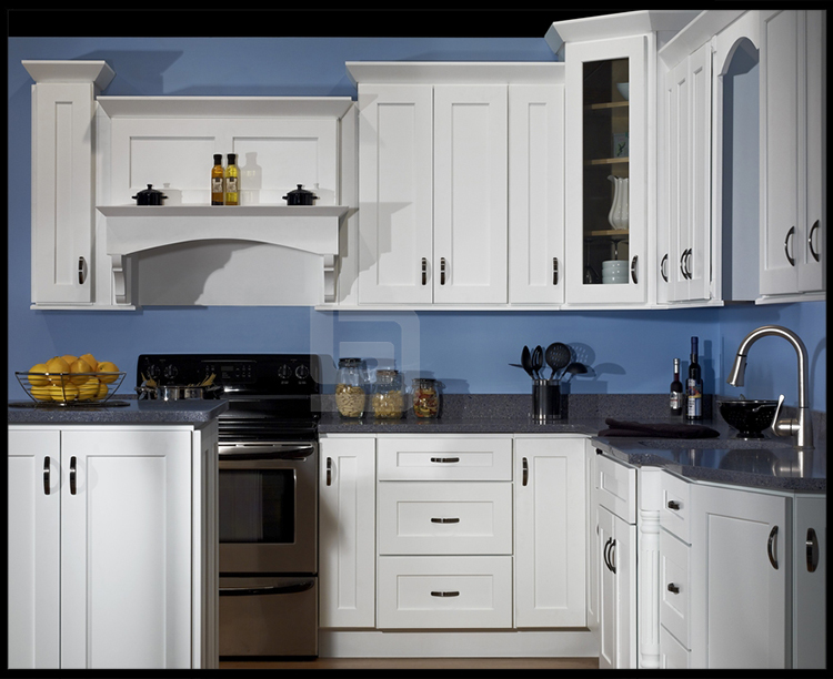 American style white shaker kitchen cabinets craigslist for Standard white kitchen cabinets