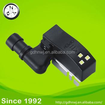 new product hinge accessories black LED light for hinge