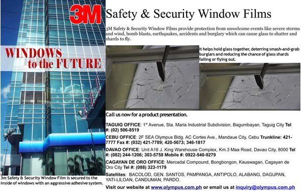 3M Safety and Security Films